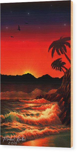 Caribbean Islands Wood Print