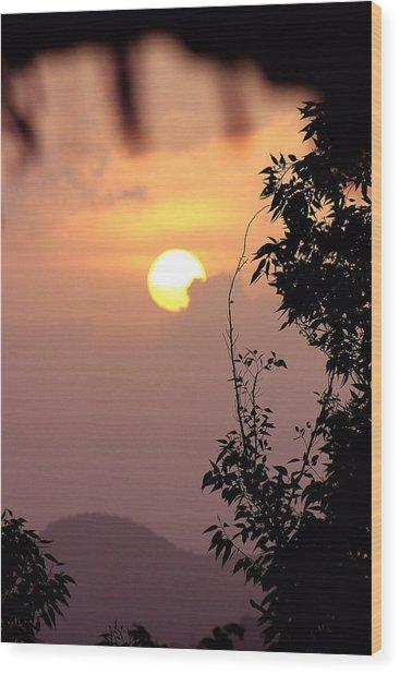 Caribbean Summer Solstice  Wood Print