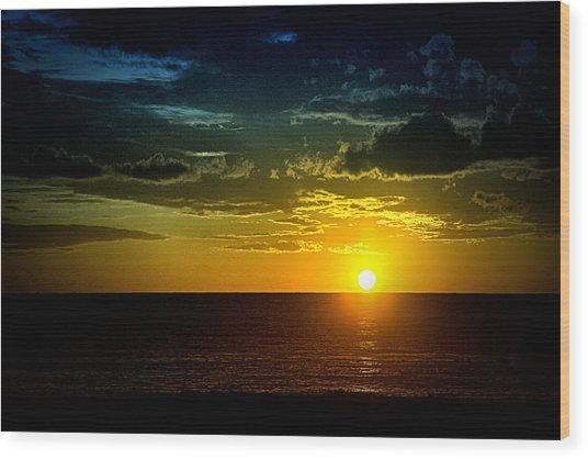 Caribbean Sunset ... Wood Print