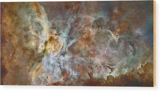 Carinae Nebula Wood Print