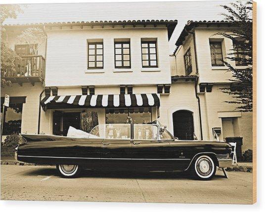 Carmel Cadillac Wood Print
