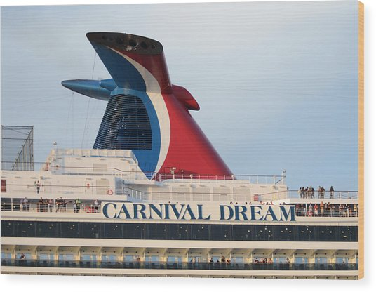 Carnival Dream Smokestack Wood Print