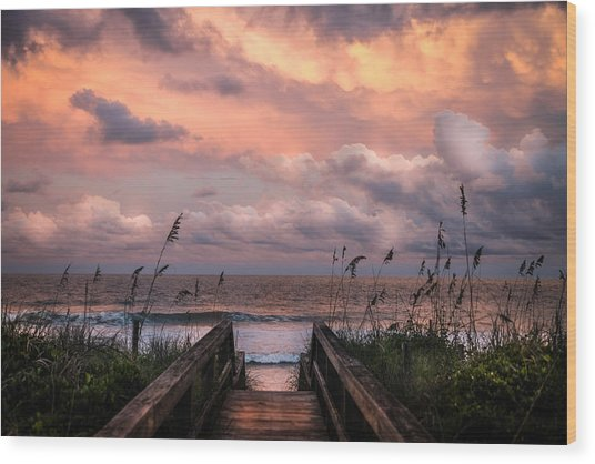 Carolina Dreams Wood Print