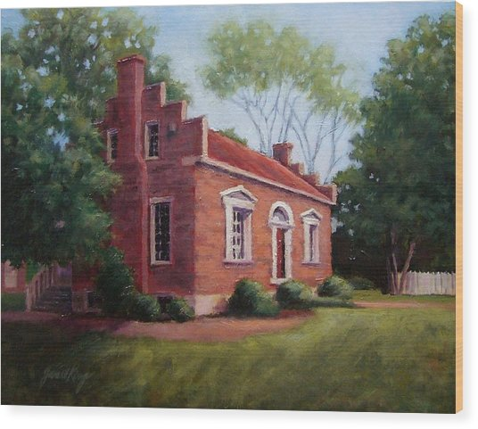 Carter House In Franklin Tennessee Wood Print