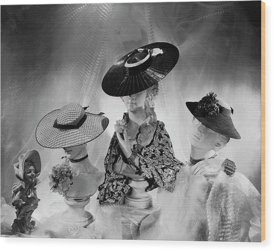 Cartwheel-style Hats By Wanamaker And J.w Wood Print