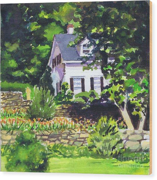 Casa Peligro Wood Print