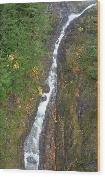 Cascades Waterfall Wood Print