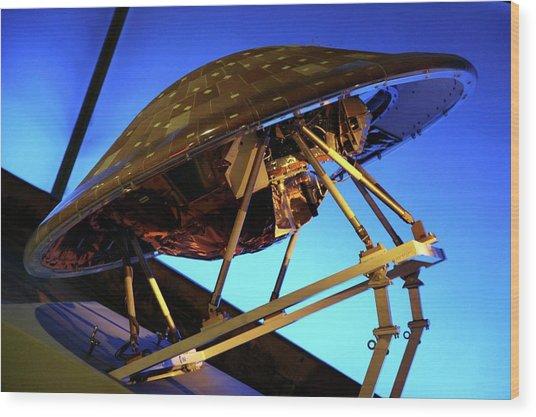 Cassini-huygens Spacecraft Wood Print by Detlev Van Ravenswaay