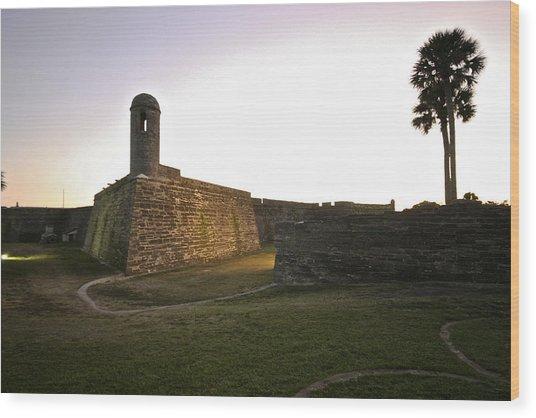 Castillo De San Marcos Wood Print