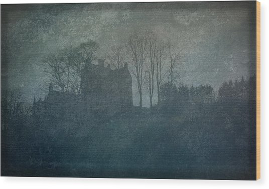 Castle On The Hill Wood Print