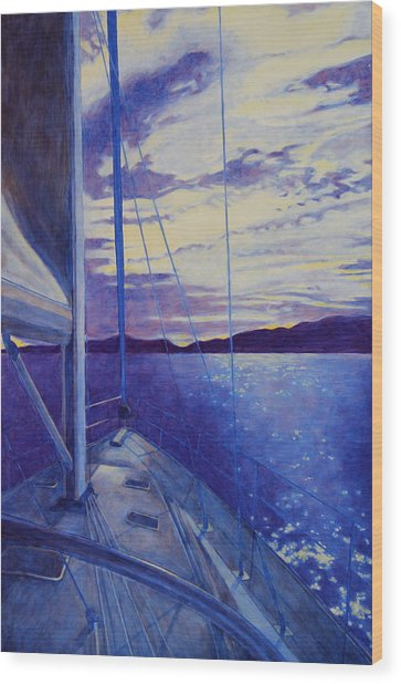Catalina Wood Print