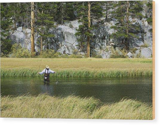 Catch Of The Day - Eastern Sierra California Wood Print