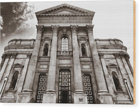 Cathedral Basilica Of Saints Peter And Paul - Philadelphia Wood Print