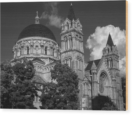 Cathedral Basilica Of St. Louis Wood Print