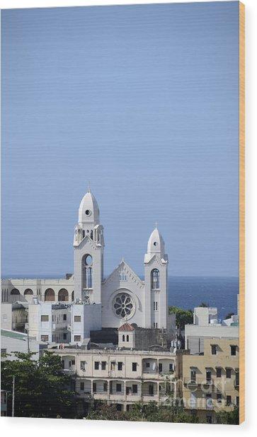 Cathedral De San Juan Wood Print
