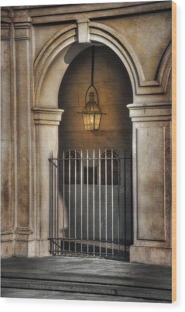 Cathedral Gate Wood Print