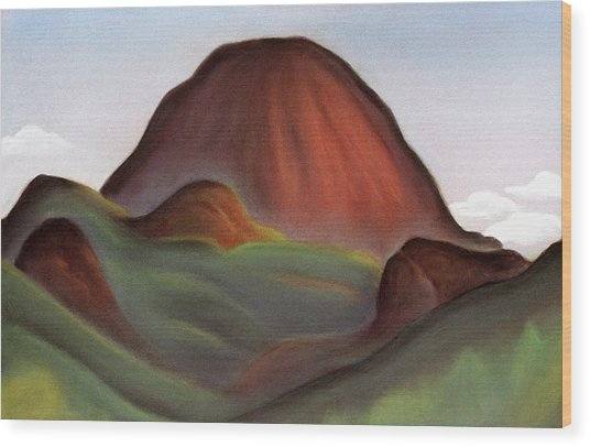 Cathedral Rock Warrumbungle National Park Nsw Wood Print