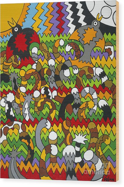 Catnip Wood Print