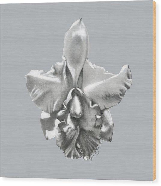 Cattleya I - Sweet Dreams Wood Print