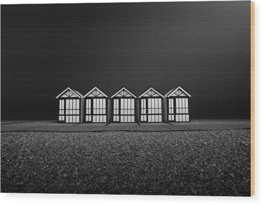 Cayeux Sur Mer- France Wood Print