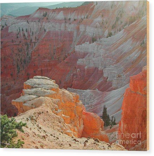Cedar Breaks Utah Wood Print