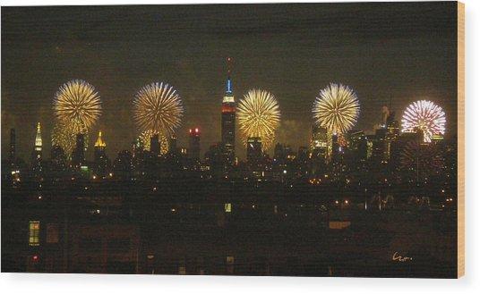 Celebrate Freedom Wood Print