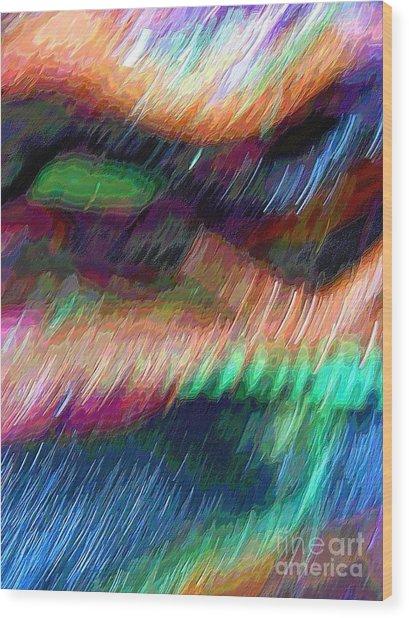 Celeritas 13 Wood Print