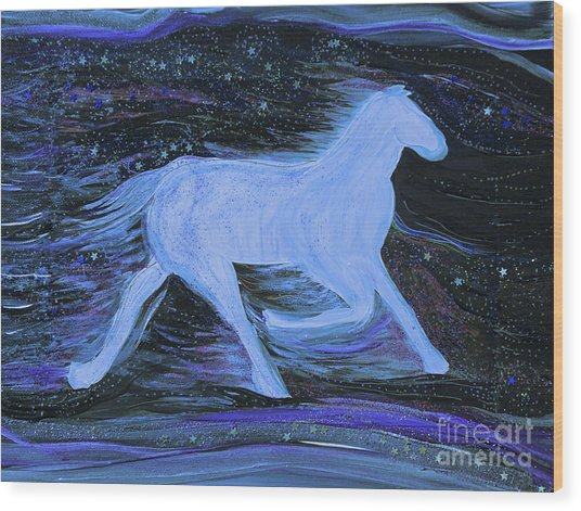 Celestial By Jrr Wood Print