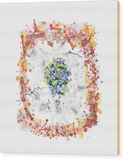 Cellular Generation Wood Print