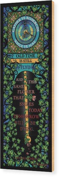 Celtic Impermanence Wood Print