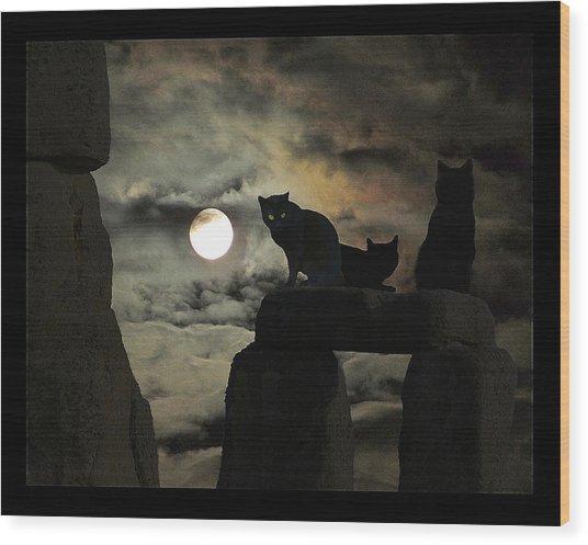 Celtic Nights Wood Print