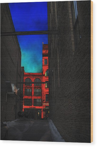 Centanni Version 2 Wood Print by David Blank
