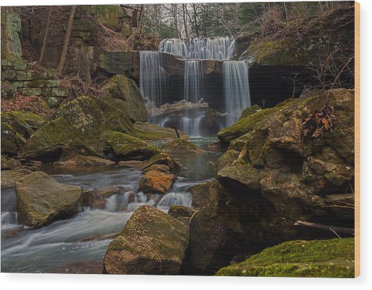 Centerville Mills Wood Print