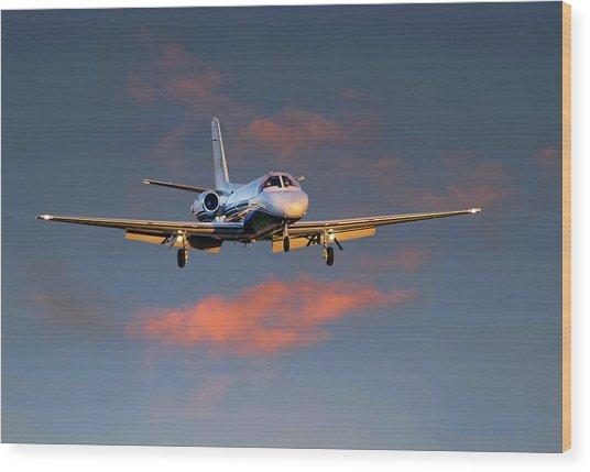 Cessna Citation Wood Print