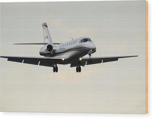 Cessna Citation Sovereign  Wood Print