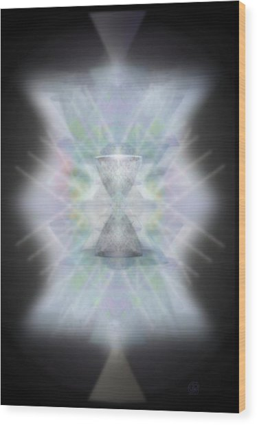 Chalice Emerging Wood Print by Christopher Pringer