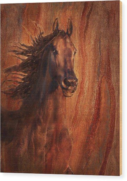 Champion Wood Print