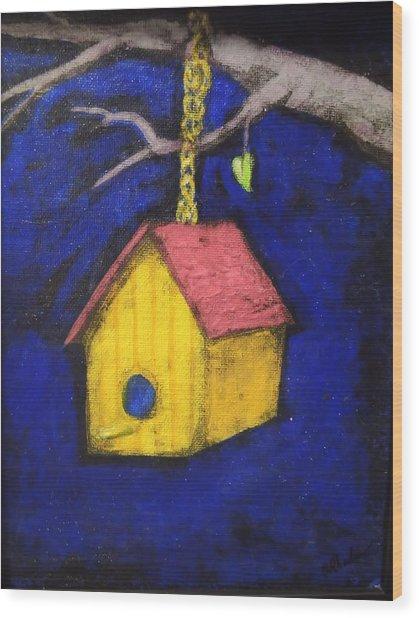 Change Of Season Wood Print by Barbara  Rhodes