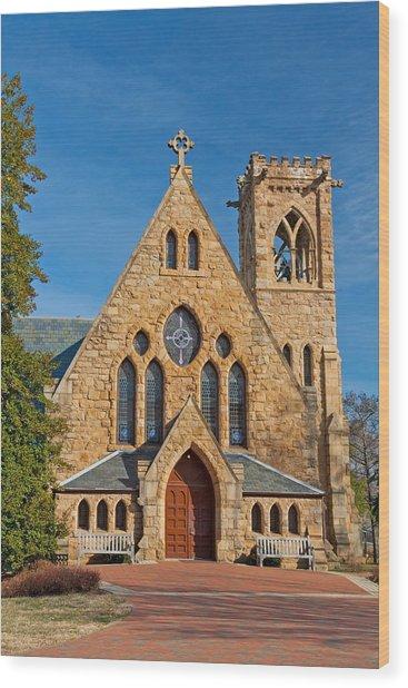 Chapel At Uva Wood Print