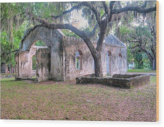Chapel Of Ease Wood Print