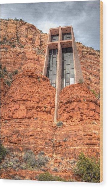 Chapel Of The Holy Cross Wood Print