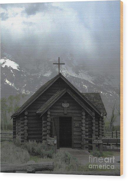 Chapel Of The Transfiguration Wood Print by Patricia Januszkiewicz