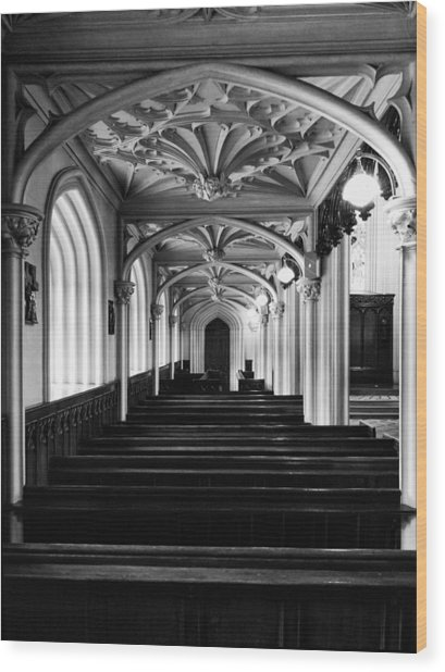Chapel Royal In Dublin Castle Wood Print