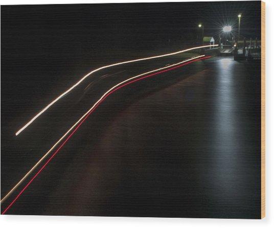 Chappy Ferry Light Wood Print