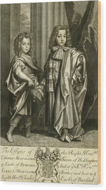 Charles Beauclerk, First Duke Of St Wood Print by Mary Evans Picture Library