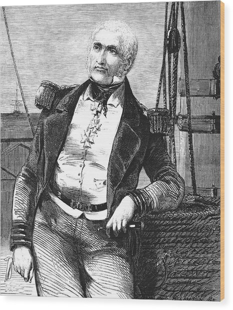 Charles Napier Wood Print by Collection Abecasis