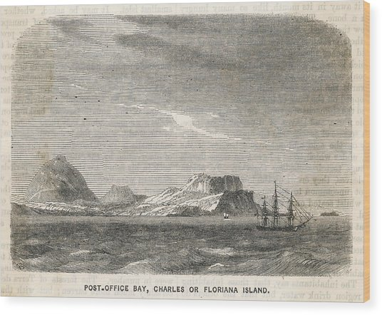 Charles (or Santa Maria/ Floriana) Wood Print by Mary Evans Picture Library