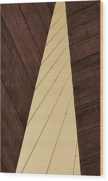 Charleston Bridge Abstract Wood Print