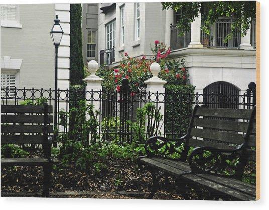 Charleston Spot Wood Print