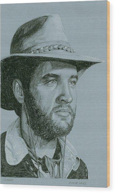 Charro Wood Print